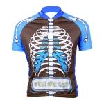 Велофутболка скелет